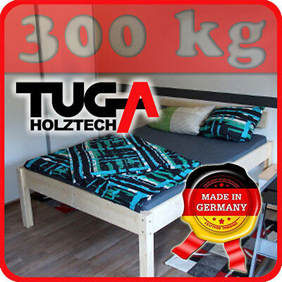 vollholzbett echtholzbettt massivholzbett buche g stebett 140x200 holzbett eur 169 00. Black Bedroom Furniture Sets. Home Design Ideas