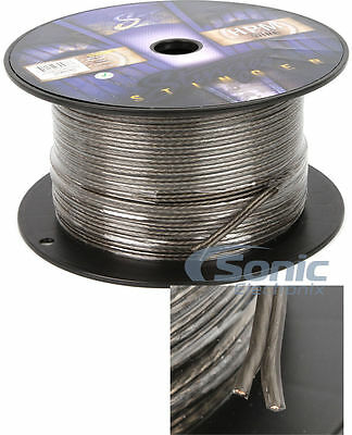 Stinger SHW516G 250 ft. Roll of HPM 16 AWG Gauge Matte Gray Speaker Wire