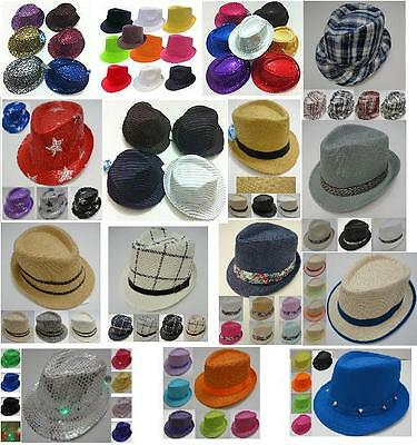 72 PC Bulk Wholesale Lot Assorted Color Mesh Pinstripe Fedora Hats.  129.88  Buy It Now 14d 3h. See Details. 24 Fedora Hat Trilby Gangster Bucket Bulk  ... f8cb3be5a9eb