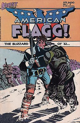 First Comics! American Flagg! Issue 7!
