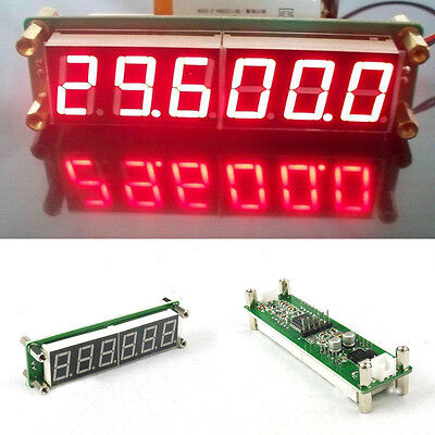 0.1 to 65 MHz RF 6 Digit Led Signal Frequency Counter Cymometer Tester meter 12v