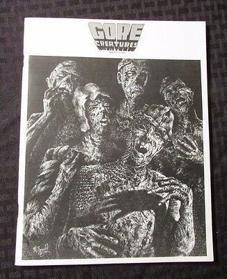 1976 GORE CREATURES Magazine #25 FVF Horror Movies