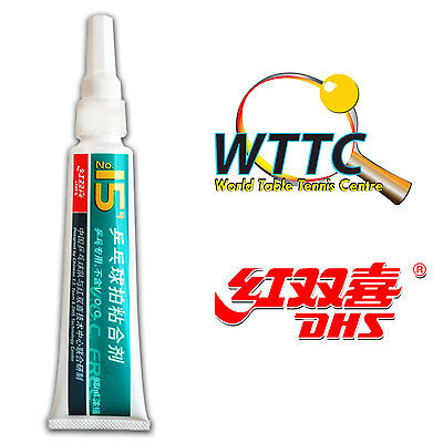Double Happiness AG03 DHS No.15 Glue V.O.C Free (98ML) Come With Sponge