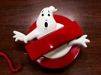 Ghostbusters Collectible 1985 Original Video Release Promotional Phone RARE