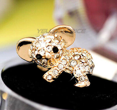 Cute Crystal Metal Koala Anti Dust Plug Stopper/Ear Cap/Cell Phone Charms iPHONE