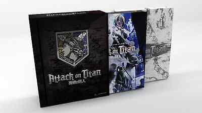 Attack on Titan Parts 1 & 2 Limited Editions + Ender Box Anime DVD+Blu-ray R1