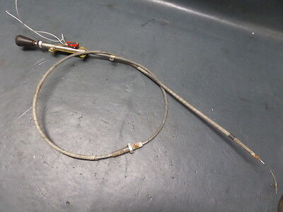 Mooney M20K 231 Aircraft Alternate Air Control Cable And Switch Assy