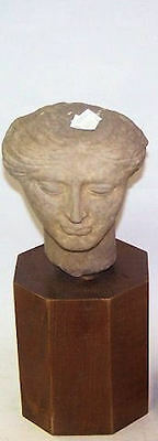 Roman Style Marble head of a Woman