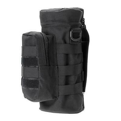 Outdoor Tactical Hiking Military Molle Water Bottle Bag Pouch Bottle Bag Black