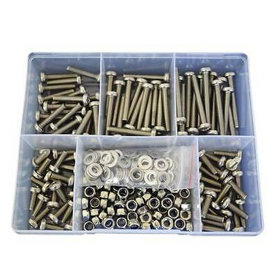 2 Kits of 270pces Pan Head Machine Screw M6 Stainless G304 Nut Washer #88