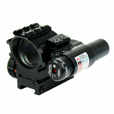 Holographic Tactical Red / Green 4 Reticles Reflex Dot Scope + laser sight combo