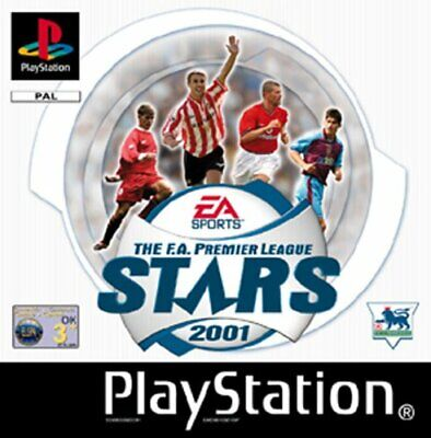 FA Premier League Stars 2001 (Playstation) - Game  1WVG The Cheap Fast Free Post
