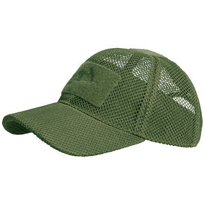 Helikon Tactical Mesh Baseball Cap Breathable Hat Airsoft Shooting Olive Green