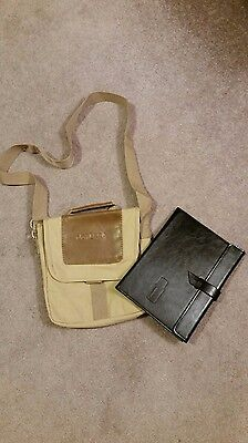 2015 doTERRA Essential Oils Leadership Retreat Satchel with Leather Padfolio