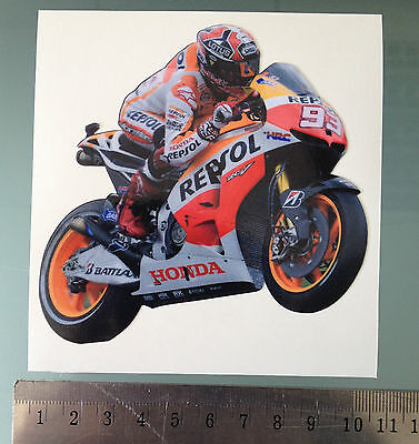 Marquez Sticker / Decal - MotoGP Repsol Honda Bike Sticker - 97mm x 97mm