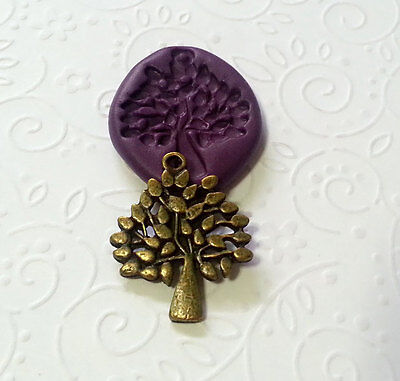 Silicone Mold Tree of Life Mould (30mm) - Cake Decoration Jewelry Dollhouse Clay