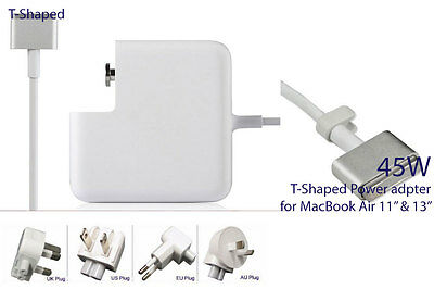 """45w T-style Connector Power Adapter Charger for MacBook Air 11"""" & 13"""""""