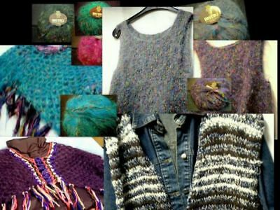 poncho, Pullunder, scialle, Stola,woll-top,uncinetto,Maglia HANDARBEIT