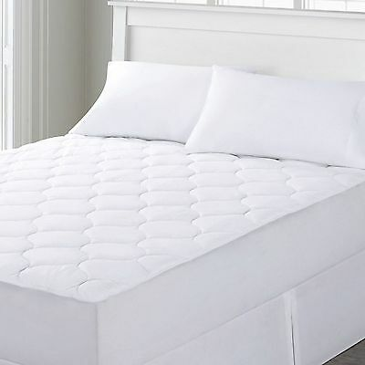 Quilted Waterproof Mattress Pad ( Fits 16 Inch Deep Mattress) Against Bed Bugs