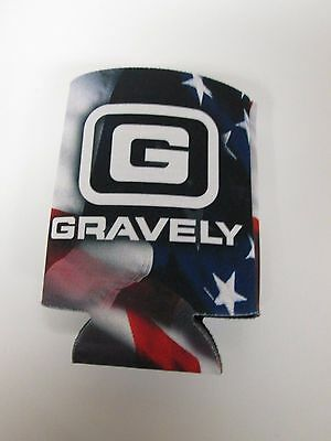Gravely Lawn Mower Amercian Flag Can Holder Coozie Koozie 880450