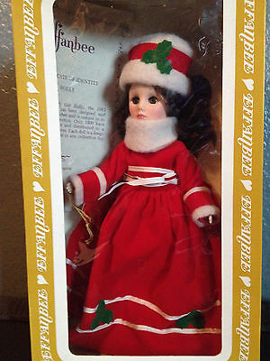 VINTAGE EFFANBEE HOLLY CHRISTMAS DOLL