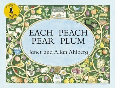 Each Peach Pear Plum by Ahlberg, Janet Paperback Book The Cheap Fast Free Post