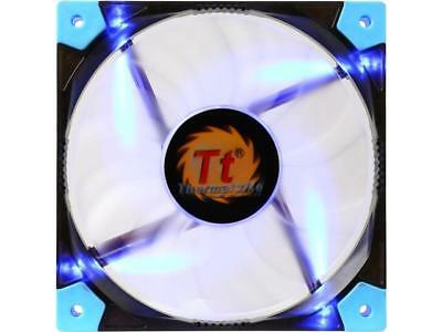 Thermaltake 120mm Luna 12 Slim Series Blue LED 15mm Width Quiet High Airflow Cas