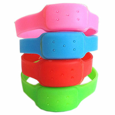 Anti MOSQUITO Silicone Wrist Band Insect Repellent for Holidays Camping Festival