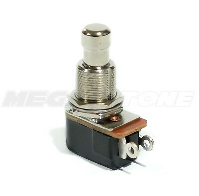 NEW SPST Momentary Soft Touch Push Button Pedal Footswitch OFF-(ON). USA SELLER.