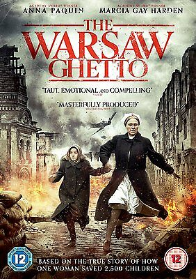 THE WARSAW GHETTO .Anna Paquin Marcia Gay Harden DVD in Inglese NEW .cp