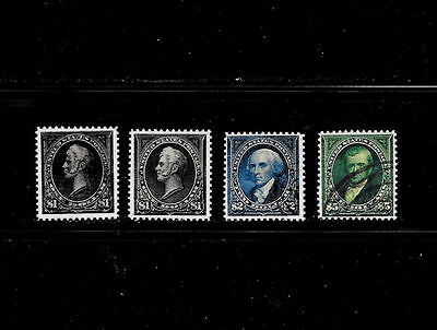 Reproductions of 261, 261a, 262, 263  Rare US Stamps *Fakes 006