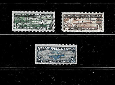 Reproductions of Zeppelin C13, C14, C15 Rare US Stamps *Fakes 020
