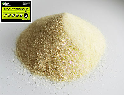 Halal Gelatine Powder 200g Odourless Quality Gold Grade 200 Bloom Beef Gelatin