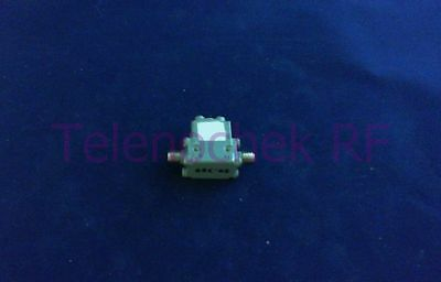 RF microwave single junction isolator 10.0 GHz - 19.1 GHz /  10 Watt / data