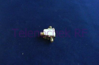 RF microwave single junction isolator 11.6 GHz - 17.1 GHz /  10 Watt / data