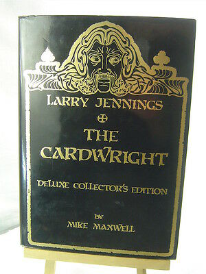The CARDWRIGHT - LARRY JENNINGS Deluxe Collectors 1st Edition 1988 MINT OOP