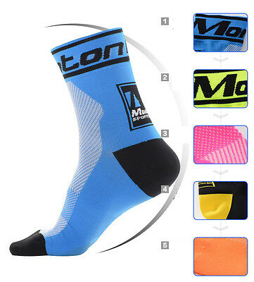 2015 New Bicycle Socks Cycling Footwear For Road Bike 6 Color One Size