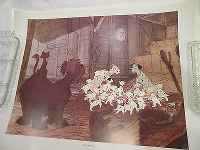 "Vintage Walt Disney ""101 Dalmations"" An Abrams Art Print Made In Japan"