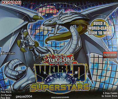 YuGiOh World Superstars WSUP Prismatic Secret Rare 1st Edition Choose from list