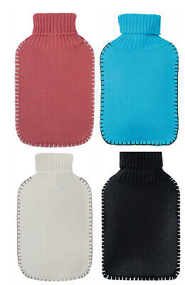 Knitted Latex Free Fashy Hot Water Bottle