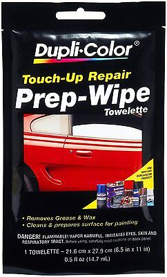 Dupli-Color PW100 Wax Grease Prep Wipe PW100