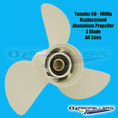 PROPELLER YAMAHA NEW SUITS 50-140HP ENGINES- All Sizes in Stock on this Item