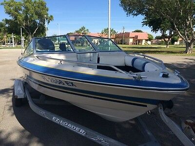 18' Sea Ray bow rider with 225 outboard