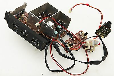 SHARP GF-777 Boombox Replacement On/OFF Plug Circuit Board and speaker PodsBack
