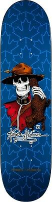 Powell Peralta Kevin Harris MOUNTIE Skateboard Deck BLUE