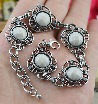 New Classical Natural hot Resin cute tibet silver Bracelet H-245