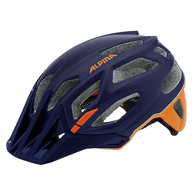Alpina Garbanzo darkblue-orange Fahrradhelm Radhelm MTB eUVP* 99,95 €