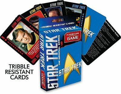 Star Trek - Playing Card Game / Deck - 52 Cards Brand New - Marvel 55003