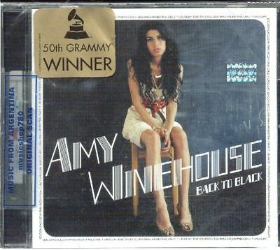 Amy Winehouse Back To Black Sealed Cd New