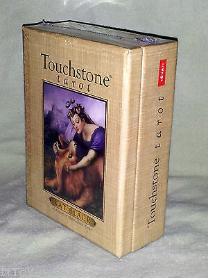 OOP - NEW & SEALED! Touchstone Tarot Card Deck & Book Set by Kat Black